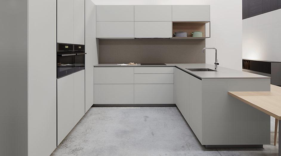 Serie 45 gris fenix cocinas urriza for Muebles de cocina fenix